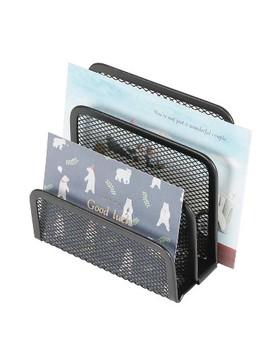 Mesh Letter Sorter Black   Made By Design™ by Made By Design