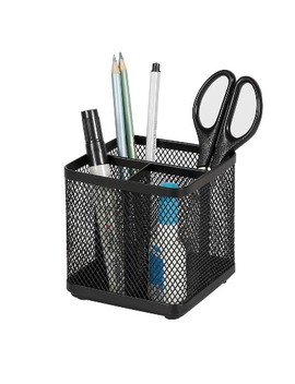 Mesh Pencil Holder Black   Made By Design™ by Made By Design