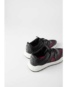 Sneakers Con Rete by Zara