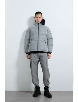 Cargo Pants With Reflective Straps by Zara