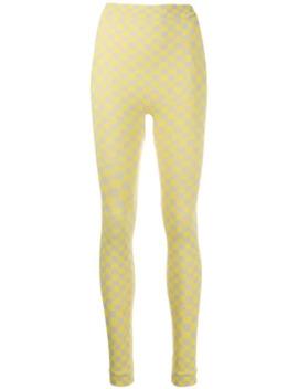 Geruite Legging by Off White