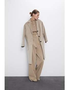 Cappotto Con Taschini Applicati by Zara