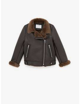 Faux Leather Double Sided Jacket by Zara