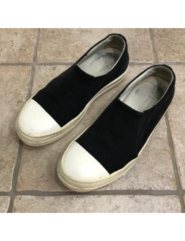 Rick Owens Drkshdw Canvas Slip On Boat Shoes by Rick Owens Drkshdw  ×