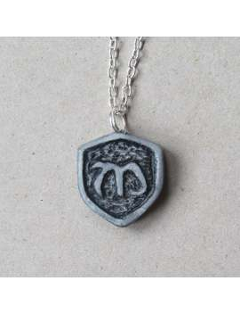 Mikaelson Crest Inspired Polymer Clay Necklace Charm by Etsy
