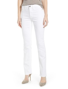 Faux Pocket Slim Straight Leg Jeans by Jen7 By 7 For All Mankind