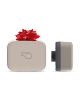Whistle Go / Health & Location Pet Tracker / Taupe by Whistle