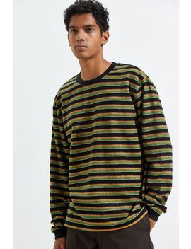 Stussy Hudson Stripe Long Sleeve Tee by Stussy