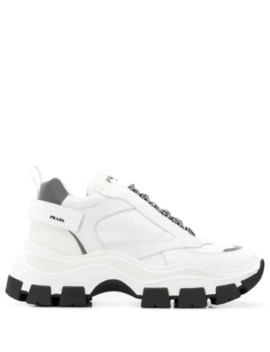 Pegasus Chunky Sole Trainers by Prada