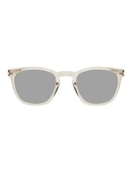 Transparent Sl 28 Slim Sunglasses by Saint Laurent