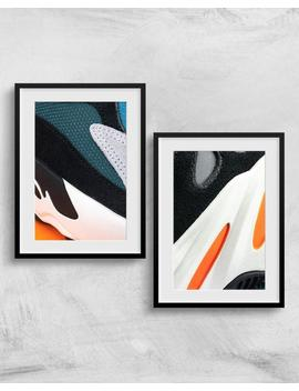 Set Of Two Prints* Adidas Yeezy 700 Wave Runner Detail Set* Premium Sneaker Poster, Home Wall Dorm Accent Decor, Abstract Photography Gifts by Etsy