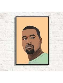 Kanye West Inspired This Poster, Kanye West Print, Kanye West Poster I Feel Like Pablo Poster, Gift For Kanye Fan. Rap, Hip Hop, Arty Prints by Etsy