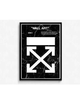 X Marble Wall Art Poster, Hypebeast Poster, Streetwear Poster, Sneakerhead Poster, Pop Culture Trendy Hipster Pop Art, Street Art by Etsy