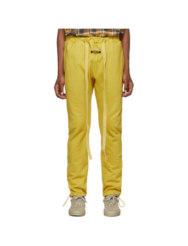 Yellow Core Lounge Pants by Fear Of God