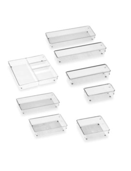I Design® Linus Acrylic Drawer Organizers by Bed Bath And Beyond