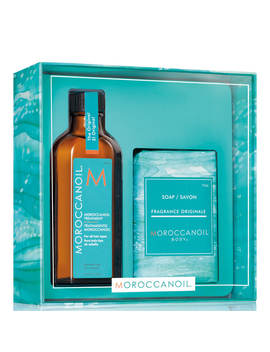 Moroccanoil Simply Beautiful Gift Set   Treatment Original (Worth £45.45) by Moroccanoil