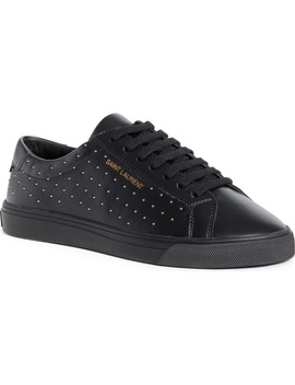 Andy Studded Sneaker by Saint Laurent