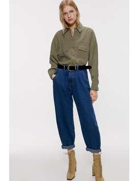 Camicia Oversize Con Tasche by Zara