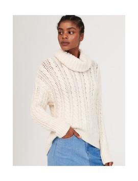 Sweter Z Luźnym Golfem by Reserved