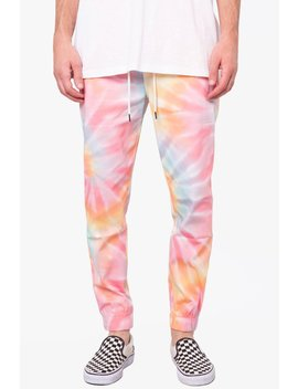 Tie Dye Stretch Twill Jogger by Elwood Clothing