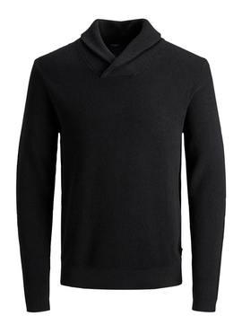 Diego Shawl Neck Sweater by Jack & Jones