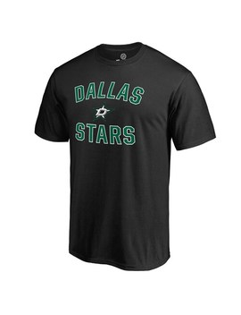 Men's Black Dallas Stars Victory Arch T Shirt by Fanatics