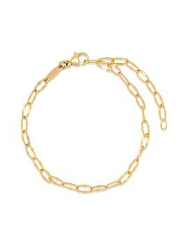 Diamond Cut Link Bracelet by CongÉs