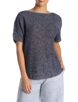 Paradise Sun Textured Short Sleeve Sweater by Tommy Bahama