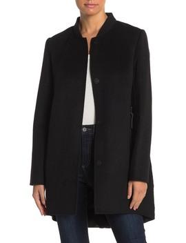 Wool & Quilted Coat by Derek Lam 10 Crosby