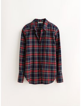 Standard Button Down In Plaid by Alex Mill