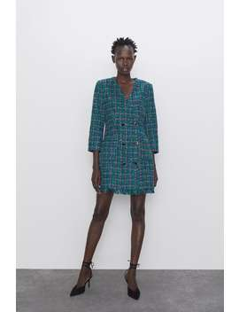 Giacca Vestito Bottoni by Zara