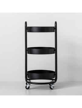 Round Metal Utility Cart   Made By Design™ by Made By Design