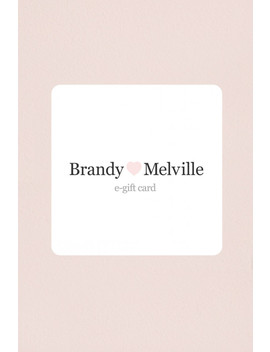 Gift Card by Brandy Melville
