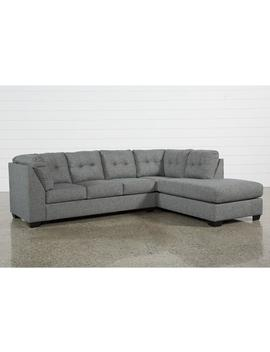 Arrowmask 2 Piece Sectional W/Sleeper &Amp; Right Arm Facing Chaise by Living Spaces