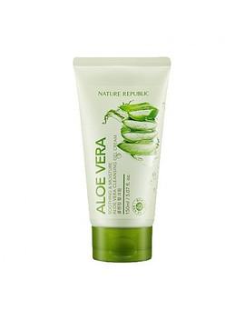 [Nature Republic]  Soothing & Moisture Aloe Vera Cleansing Gel Cream by Style Korean