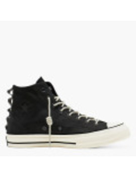 Chuck Taylor All Star 70 Sp Nubuck Leather High Top Black by Converse