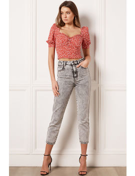Ditsy Floral Top by Bardot
