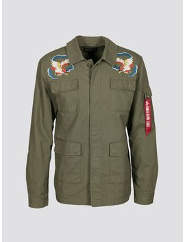 Bdu W/ Embroidery Jacket by Alpha Industries