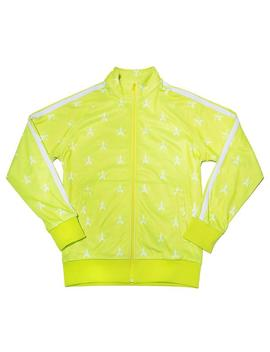 Chartreuse Track Jacket by Jeffree Star Cosmetics