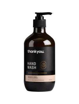 Thankyou. Hand Wash   Botanical Sweet Orange & Almond 500ml by Woolworths