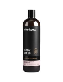 Thankyou. Body Wash   Botanical Geranium & Rosewood 500ml by Thankyou.