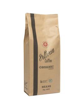 Vittoria Coffee Organic Coffee Beans Organic 1kg by Vittoria Coffee