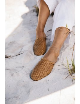Bunto Woven Loafer   Almond by St. Agni