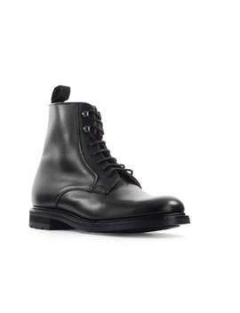 Church's Wootton Natural Calf Black Bovver Boot by Church's