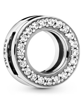 Circle Of Pave Clip Charm 798600 C01 by Pandora Reflexions