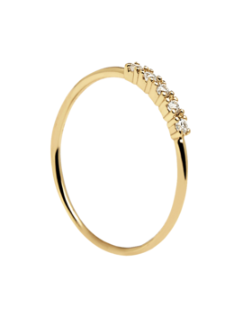 Misty Gold Ring by P D Paola