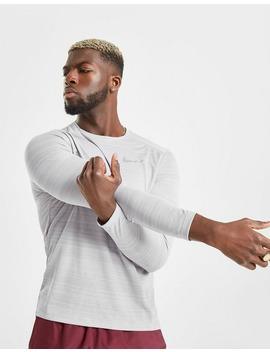 Nike Dri Fit Miler Long Sleeve T Shirt by Nike