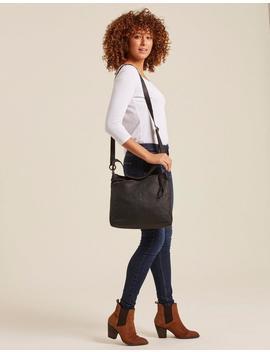 Scarlett Leather Shoulder Bag by Fat Face