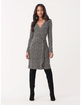 Julian Silk Jersey Wrap Dress by Dvf