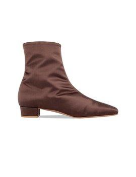Este Boot Brown Silk by By Far